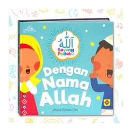Buku anak , dengan menyebut nama allah