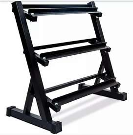 Dumbbell rack + Dumbbells weight