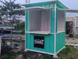 Rombong,gerobak,booth,semi kontainer,replika kontainer,container,murah