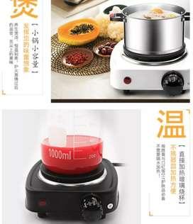 Adoolla Kompor Listrik Mini Hot Plate Electric Cooking 500W