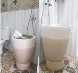 Bak mandi terazzo masa kini