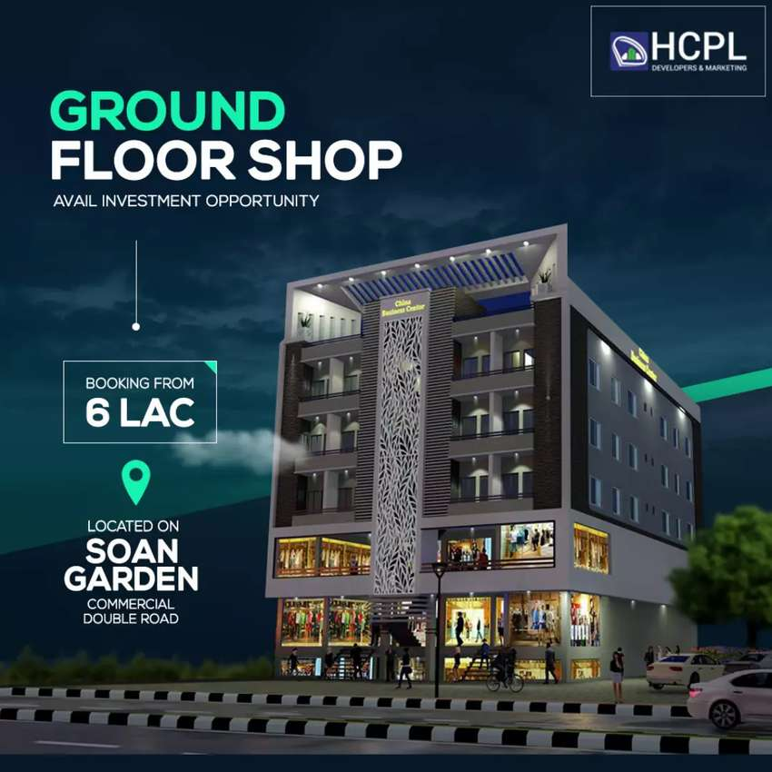 Shop For Sale L.G.Floor, China Business Center, Soan Garden Islamabad 0
