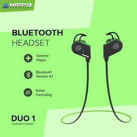 Headset hippo duo 01 bluetooth
