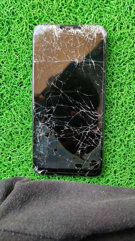 oppo a3s damaged display.any repairs in quartaine periad.