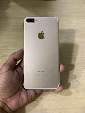 I phone 7 plus 128gb gold color