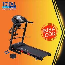 treadmill elektrik tl 138 treadmil 2 hp total COD Cilacap