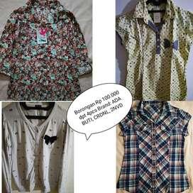 Paket Borongan Baju Brand Cewek