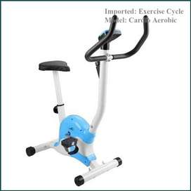 Exercise Cycle Aerobic Training, Gym Bike, Fitness is great felling,