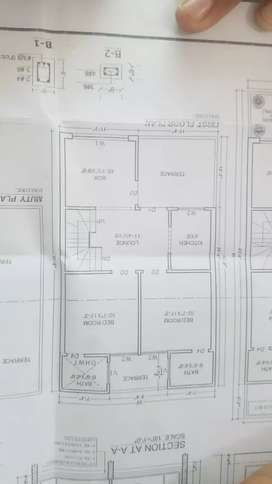 fazaia housing scheme near to main  road good location plot