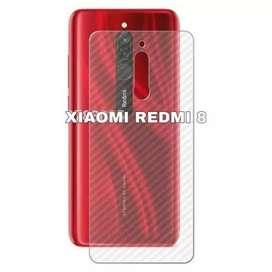 Aneka garskin Xiaomi Redmi cek Gambar anti jamur Model karbon
