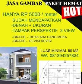jasa  arsitek desain rumah  - desain arsitek gambar  rumah