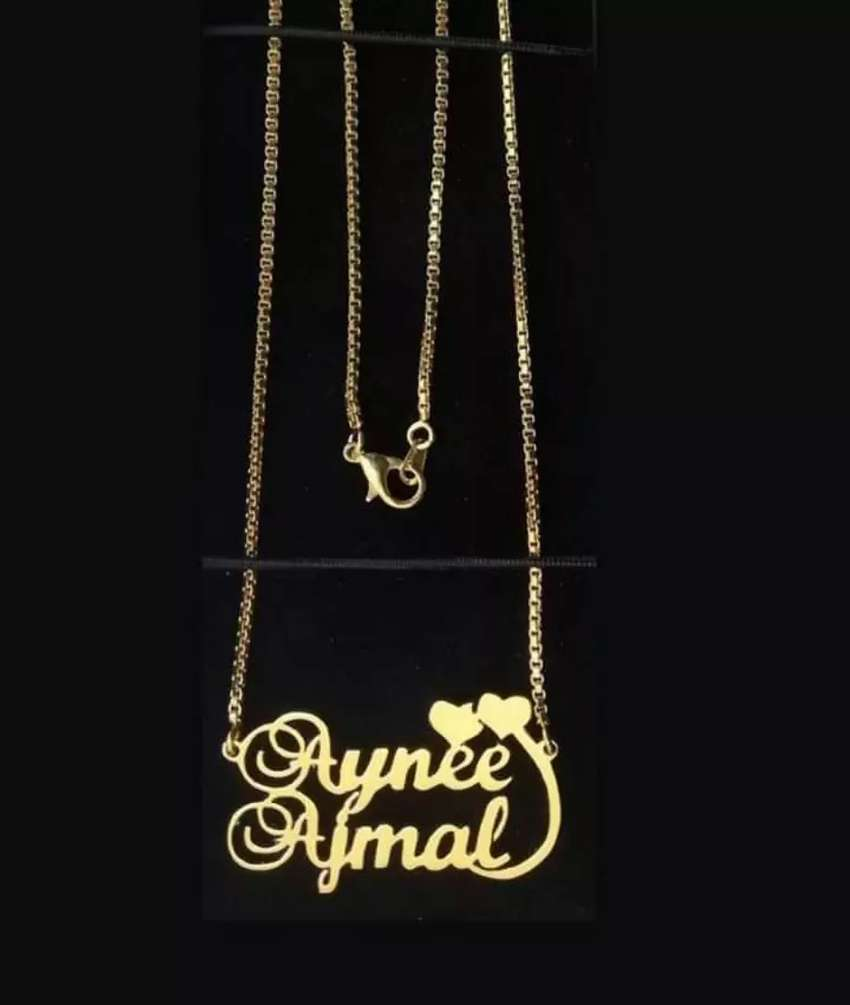 Name necklace 0