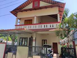 6 cent land with  4 bhk near bus route  Kottamury