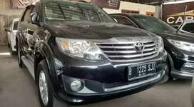 Toyota Fortuner 2.7 G Lux matic bensin 2012