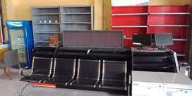 Meja kasir ex alfamart bekas