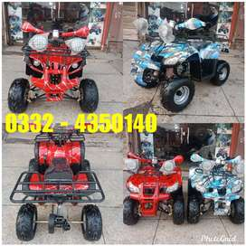 Brand New 125cc Hammer Jeep Atv Quad 4 Wheels Bike Deliver In Pakistan