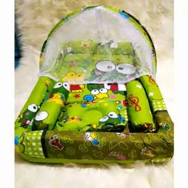 Kasur Kolam Bayi persegi perlengkapan tidur bayi baru lahir