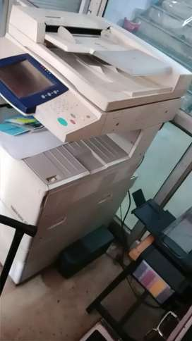 Sell xerox 7428 multi function printer print scan and copy upto 12by18