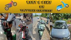 Rent a car and bikes available all types