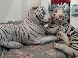 White Tigers Made Of Wool
