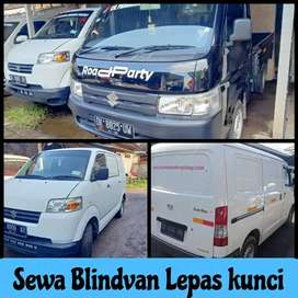 Sewa pickup mobil blindvan lepas kunci harian/mingguan/bulanan di Bali