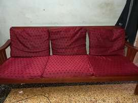 Sofa set with two chairs