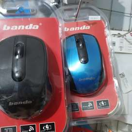 Mouse Wireless Banda Original untuk PC komputer laptop Notebook