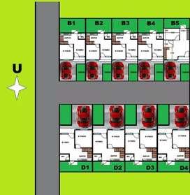 Rumah indent tersedia 8 unit  lokasi strategis sesetan