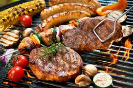 Required  male barbeque chef