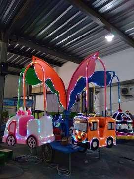 komedi putar safari gantung mainan kuda animal ride DCN