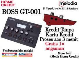 Promo Kredit BOSS GT-001 Syarat KTP+SIM di Melodia Musik Surabaya