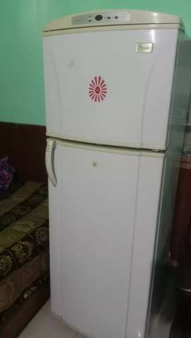 Whirlpool refrigerator 260 litres good condition double door