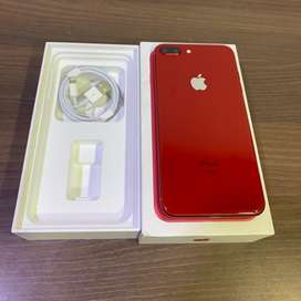Apple Iphone 8 plus - 64 Storage ( Red Colour )