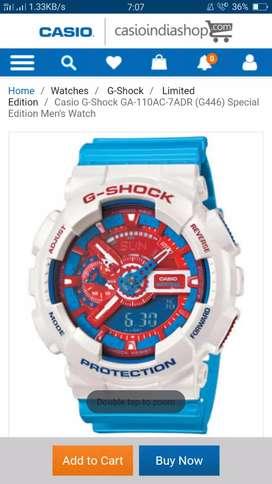 G Shock Brand new watch box piece