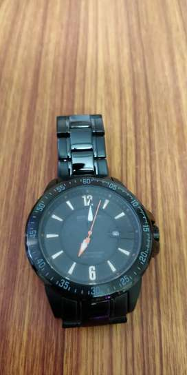 Spyder Black Steel strap Analog Watch