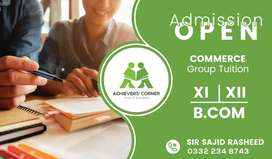 Admission Open in Xi,Xii, & BCom