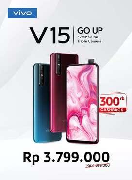 Vivo V15 6/64 cash back sampai 300ribu