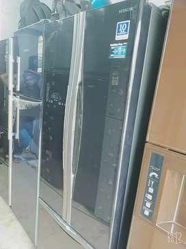 3 door fridge  available  in good working condition..