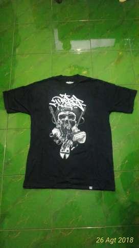 ORI ORIGINAL NEW Kaos t-shirt Drip and Drop Dnd BARU size XL Hitam