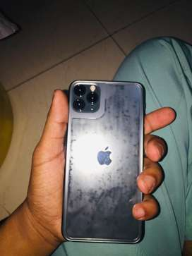 I phone 11 pro max 256 gb without any screcth new condition.