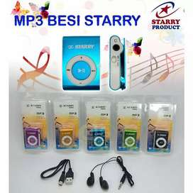 Mp3 Player starry + Headset + Kabel Charger