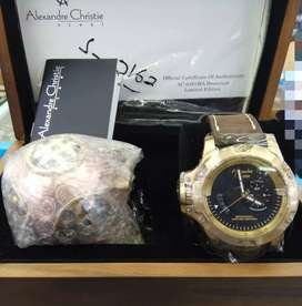 Alexandre Christie 6481 Kapal Selam Limited Edition di dunia 0162/2000