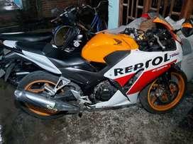 Cbr150r Repsol k45 tahun 2014