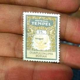 Materai 25 rupiah th 1976 - 1980