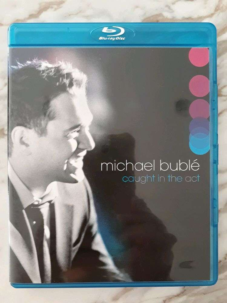 Preloved Bluray Disc ORIGINAL Music Movie Michael Buble Caught in the