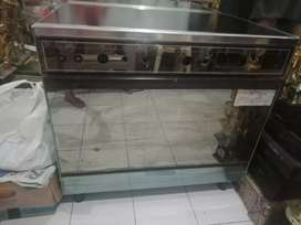 Jual Itagas 5 tungku (made in Italy). Ada oven pemanas
