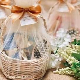 Souvenir Hampers Handuk Set 1 pernikahan