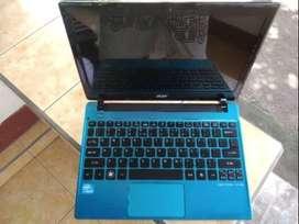 Notebook acer ao756 12inch