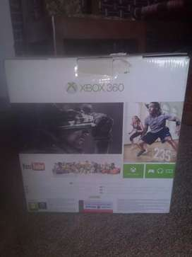 Xbox 360 E model 250 GB with 3 DVD and 8 games and 3 app inatall