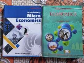 CLASS XI ECONOMICS BOOKS (2 books)
